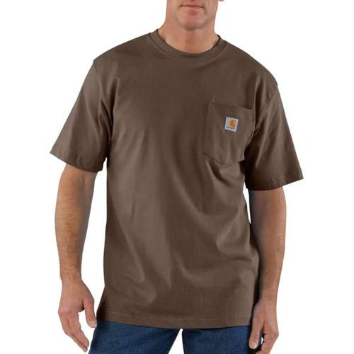 Carhartt Men's Workwear Pocket Short Sleeve T-Shirts K87-Blk K87