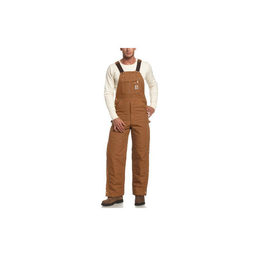 Carhartt Men's Zip To Thigh Bib Overall R41