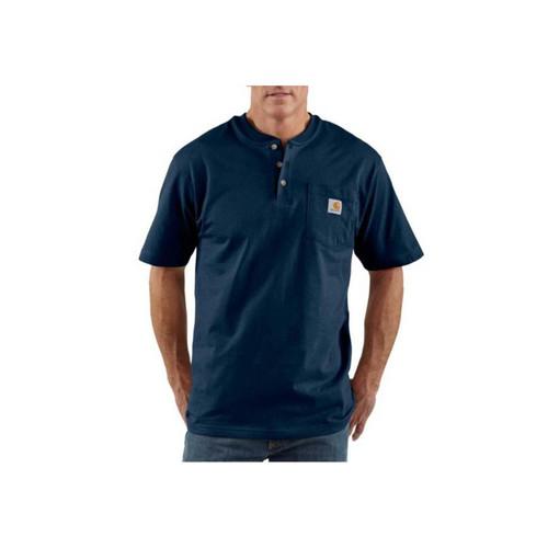 Carhartt Men's Workwear Short-Sleeve Henley T-Shirts K84