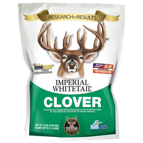 Whitetail Institute Imperial Clover Perennial Food Plot Seed 2 lbs