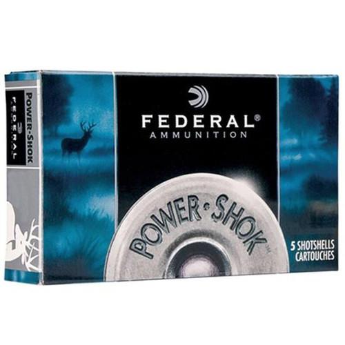 """Federal Power-Shok 12 Gauge 2.75"""" 000 Buck 5 Rounds"""