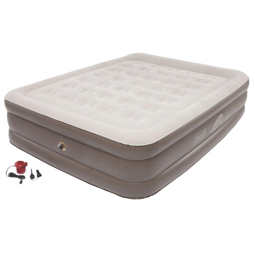 Coleman Supportrest Plus Pillowstop Queen Double High Airbed
