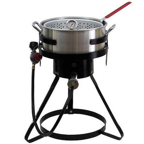 Chard Heavy Duty 10.5 Quart Aluminum Fish Fryer