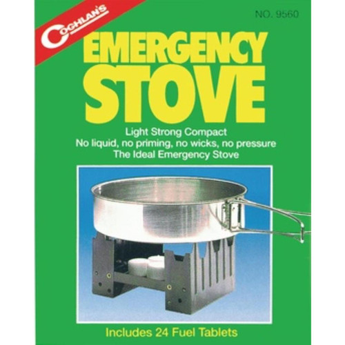 Coghlans Emergency Survival Stove, 24 Heat Tablets