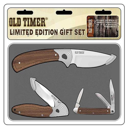 Bti Old Timer 3 Piece Rosewood Geo Set W/Tin