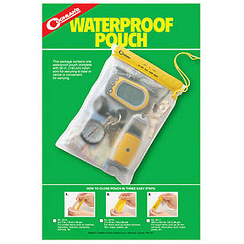 """Coghlan's Water Resistent Pouch 10 1/2"""" X 13 1/2"""""""