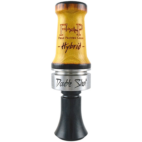 FIELD PROVEN 258 DOUBLE SHOT HYBRID DUCK CALL
