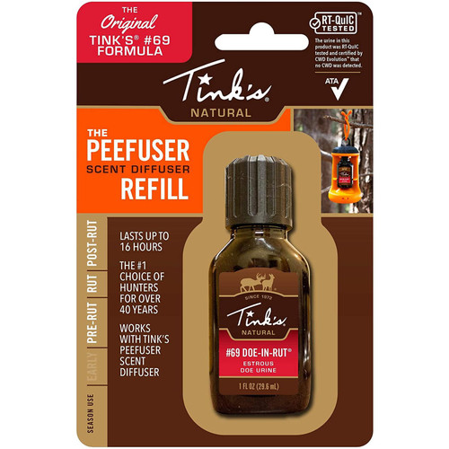Tinks Tinks Scent Diffuser Refill .5Oz Bottle #69 Doe-In-Rut