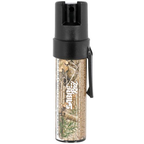 Sabre P22Camo02 Camo Pepper Spray 10 Ft Range With Pocket Clip
