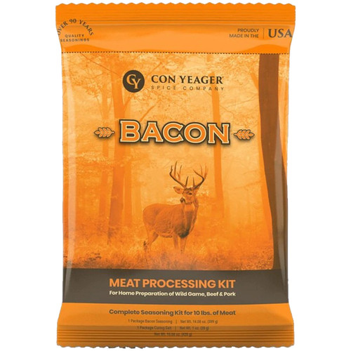 Con Yeager Spice Bacon 10 Pounds Of Meat Processing Kit #41170
