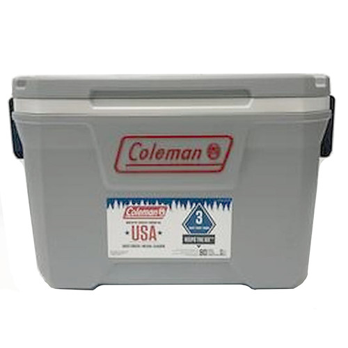 Coleman 52-Quart Hard Cooler - Grey