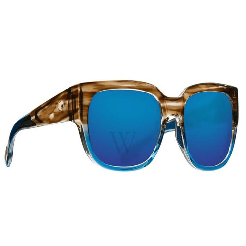 Costa Del Mar Waterwoman 54.7 MM Shiny Wahoo Sunglasses