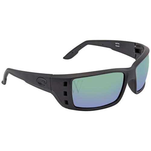 Costa Del Mar Permit 61.7 MM Blackout Sunglasses