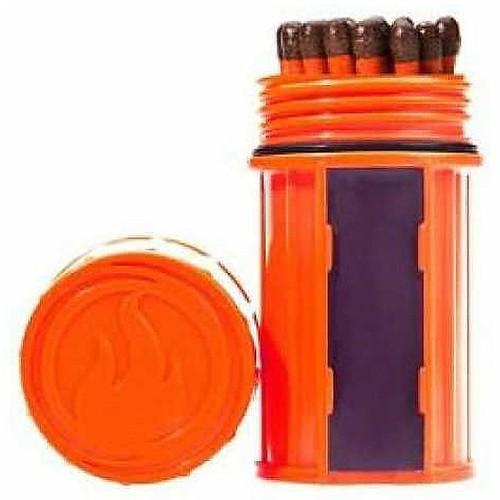 UCO Storm Proof Match Kit Orange Mt-Sm-Cont-Orange