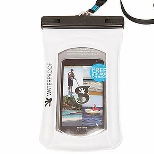 Float Phone Dry Bag - White