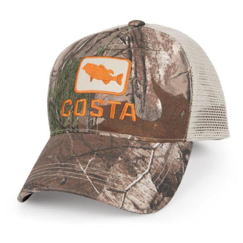 Costa Del Mar Bass Trucker Hat