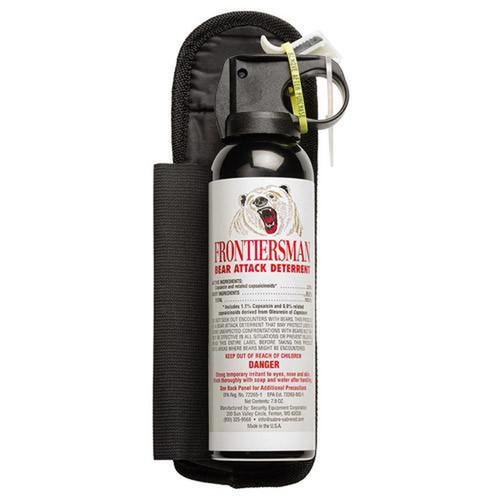 Sabre 7.9 Oz Bear Spray W/Holster