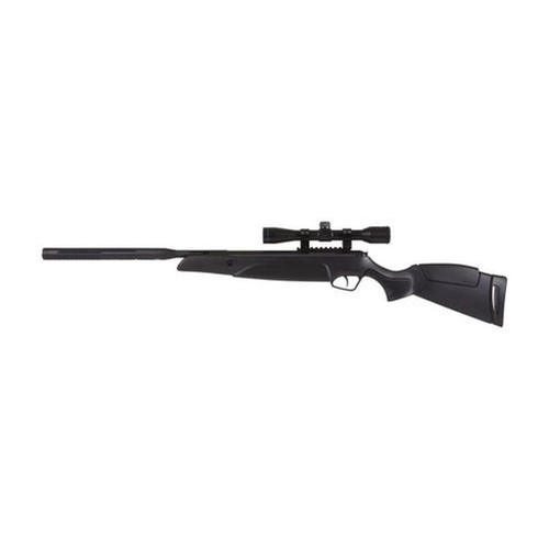 Stoeger A-30 S2 Air Rifle, .22 Cal, 4X32 Scope, Black Synthetic Monte Carlo-Style Stock