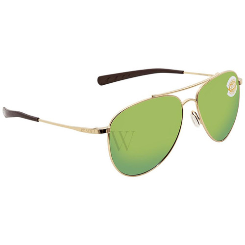 Costa Del Mar Cook 59.7 MM Shiny Gold Sunglasses