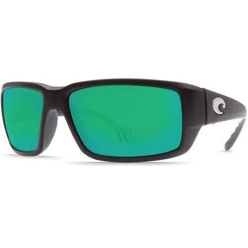 Costa Del Mar Fantail 58.9 MM Matte Black Sunglasses
