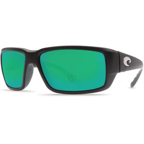 Costa Del Mar Fantail 58.9 MM Matte Black Sunglasses