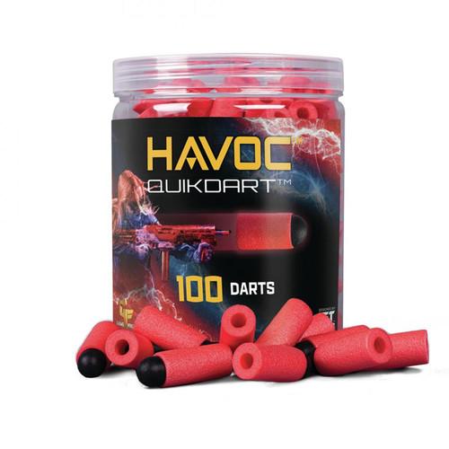 Gameface Havoc Quik Dart (Red) 100 Count Soft Tip Dart