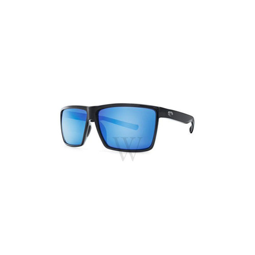 Costa Del Mar Rincon 63.5 MM Shiny Black Sunglasses