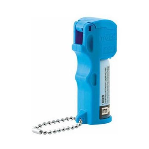 Pepper Mace Pocket Neon Bl Keychain 11G