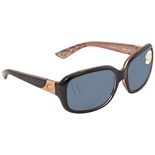 Costa Del Mar Gannet 57.9 MM Black Sunglasses