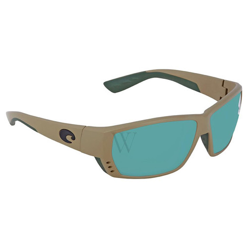 Costa Del Mar Tuna Alley 61.8 MM Matte Sand Sunglasses