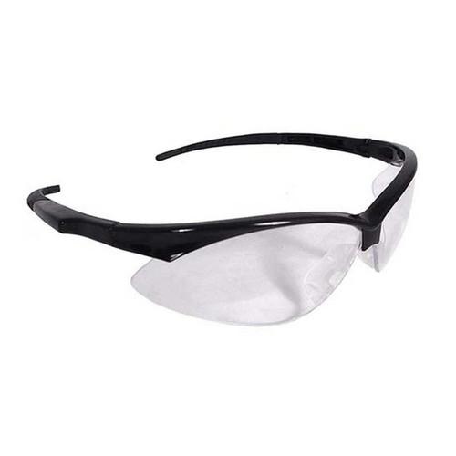 Radians Obj110Cs Outback Jr Shooting Glasses Black Frames, Clear Lens