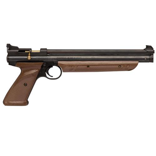 "Crosman Classic Air Pistol .177 10"" Black Synthetic Single Shot 1377C"