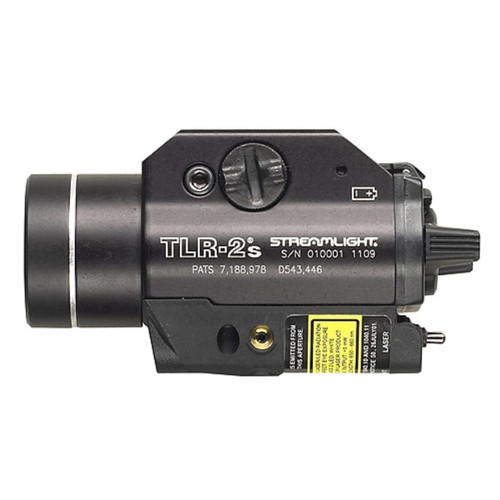 Streamlight TLR-2S Weapon Light Led, Laser, 2 Cr123A Batteries Matte