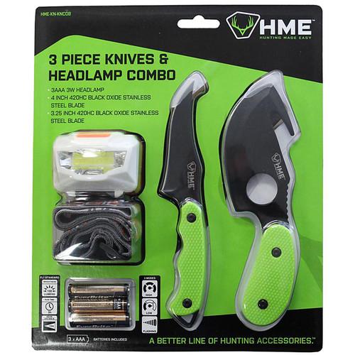 Hme 3 Piece Knives/Headlamp Comb