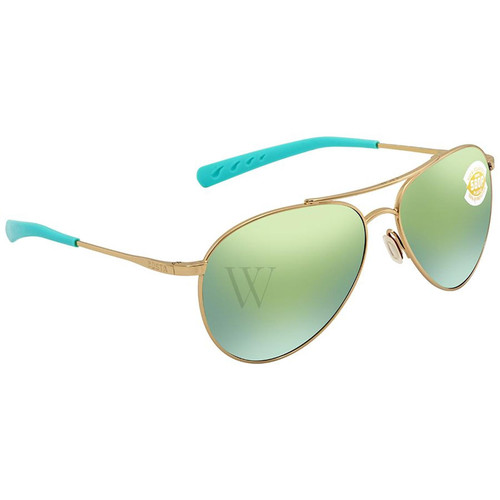 Costa Del Mar Piper 57.9 MM Gold Sunglasses