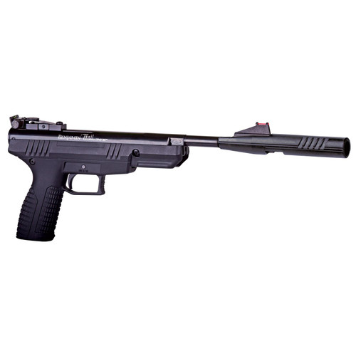 Benjamin Trail Nitro Piston Air Pistol 177 Caliber Black Synthetic Stock Blued Barrel