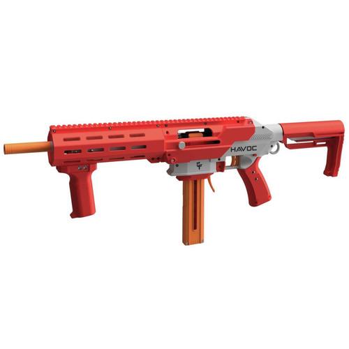 Game Facehavoc Prime Spring Powered Foam Dart Blaster-Red