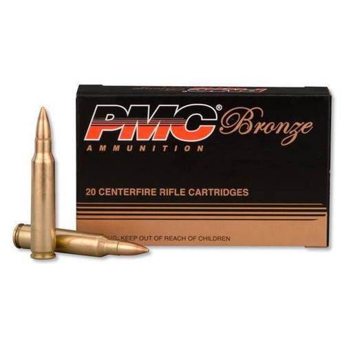 PMC Bronze .223 Rem 55 Grain FMJ 20 Rounds