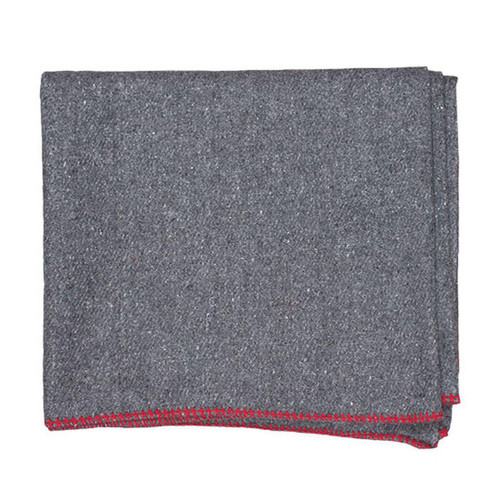 Fox Outdoor Wool Camp Blanket Dark Grey 818-9