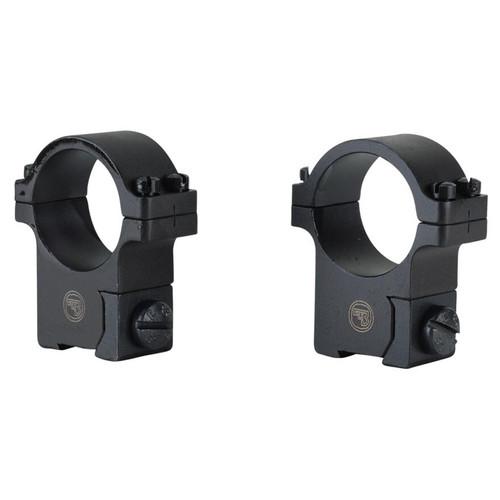 "CZ 1"" Ring Mounts CZ 452, 455, CZ511 (11mm Dovetail) Blued"