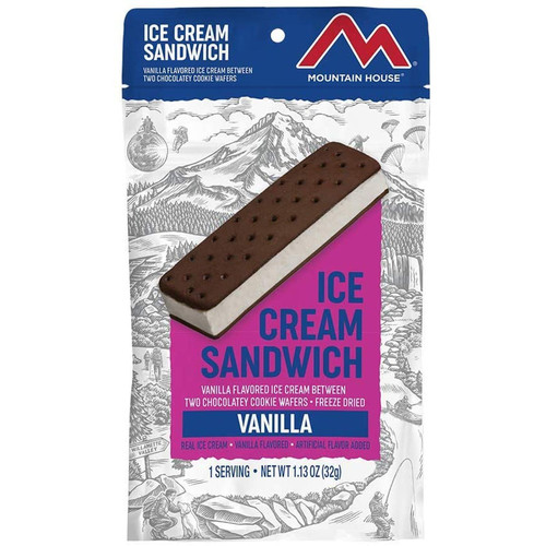 Mountain House Ice Cream Sandwich - Vanilla