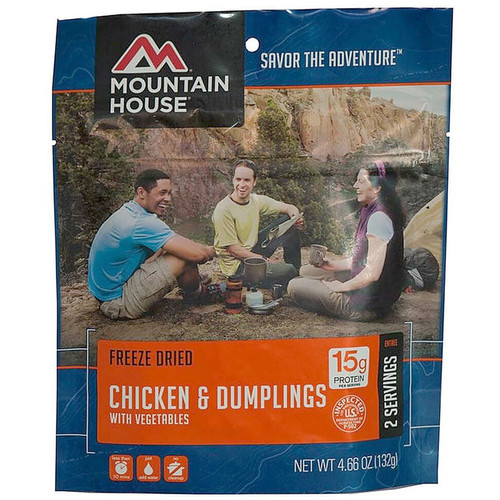 Mountain House Chicken and Dumplings with Vegetables