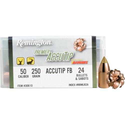 Remington Premier Accutip Muzzleloading Bullets 50 Cal 250 Gr 24PK