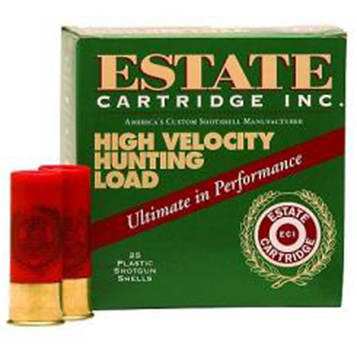 "Estate Cartridge High Velocity 12 GA Rifled Slug 2.75"" 1oz 5 Rounds"