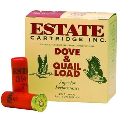 "Estate Cartridge Upland Hunting 20 GA 2.75"" 1oz 7.5 Shot 25 Rounds"
