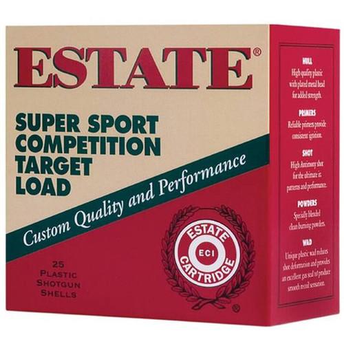 "Estate Cartridge Super Sport 410 2-1/2"" #7.5 Shot 1/2 oz 25 Rounds"