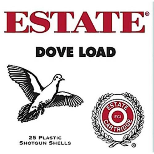 "Estate Cartridge Dove and Target Load 12GA 2-3/4"" 1-1/8oz 8 Shot 250 Rounds"
