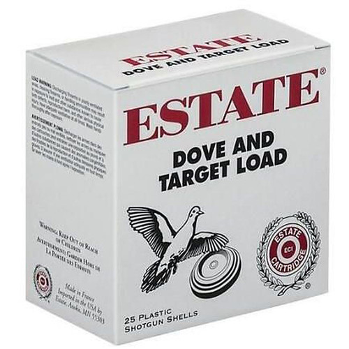 "Estate Cartridge Dove and Target Load 12GA 2-3/4"" #7.5 Lead Shot 250 Rounds"