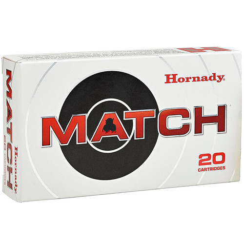 Hornady Match 223 Remington 75GR HP Boat Tail 20 Rounds