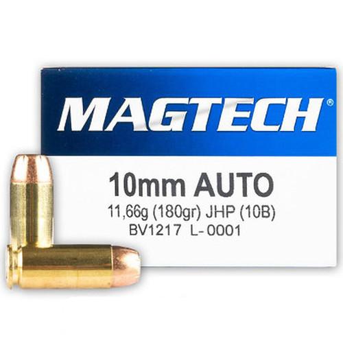 Magtech 10mm Auto 180GR JHP 50 Rounds